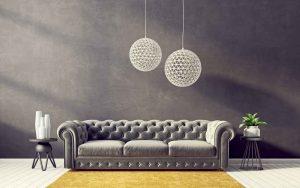 גופי תאורה לסלון